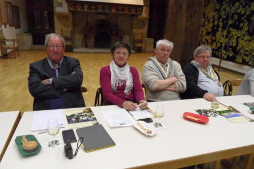 Rencontre des Confréries neuchâteloises au Château de Boudry: ...