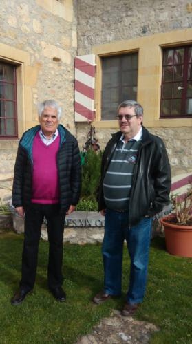 Michel Tardin et Pierre-André Triponez.