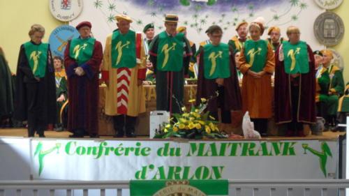 Chapitre de la Confrérie du Maitrank à Arlon: Robert Goffinet.