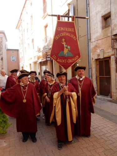 Chapitre de la Confrérie des Chevaliers de St-Chinian.