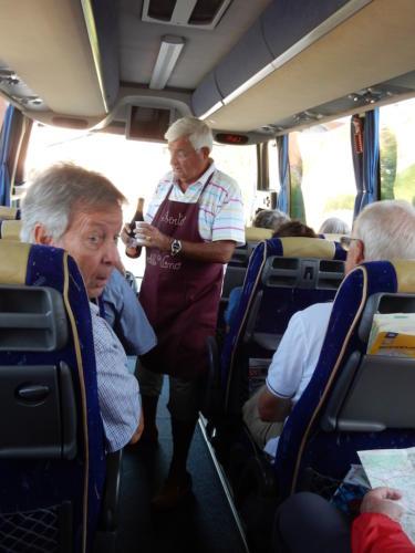 Sortie en Franche-Comté et en Bourgogne: Claude Burschini et Robert Goffinet.