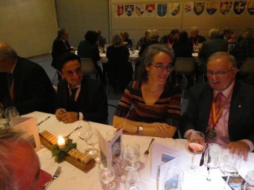 Frairie d'automne à Hauterive: Rocco Mauri, Martine Steiger Burgos et Jean Wenger.